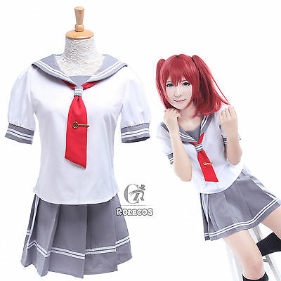 LoveLive!Sunshine!! Aqours School Uniform Sailor Suit Dress Cosplay Costumes