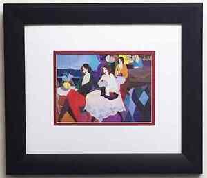 Itzchak Tarkay Cassis Ii Lithograph Custom Framed Art Print New Litho Ebay