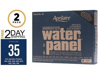 2 Pack OEM Aprilaire 35 Humidifier Water Panel 350 360 560 568 600 700 760 768 | eBay