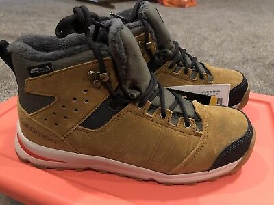 Kid's SALOMON Utility TS CSWP J Suede Shoes Boots Size USA 5 889645077901   eBay