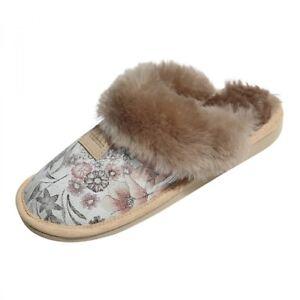 Details zu Lammfell Hausschuhe SYDNEY MODELL 10 Damen Pantoffeln Puschen Fellschuhe