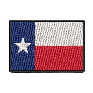 TEXAS-STATE-FLAG-PATCH-EMBROIDERED-IRON-ON-LONE-STAR-TX-REPUBLIC-applique-BEST