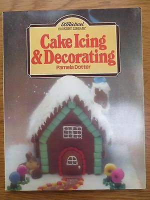Vintage Cook Book CAKE ICING & DECORATING Pamela Dotter RETRO St Michael 1970s