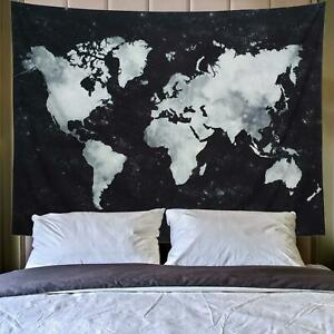 Lahasbja World Tapestry Map Tapestry Starry World Map Tapestry Apartment Essenti