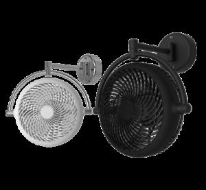 Alaska DC Wall Mount Fan 8 Inch Adjustable Swivel Fan Remote Control Taipei Gift