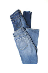 AG-Adriano-Goldschmied-Women-039-s-Skinny-Straight-Jeans-Cotton-Blue-Size-24-Lot-2