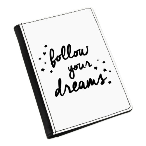 Follow Your Dreams Passport Holder Cover Case Wallet-Inspirational Taux