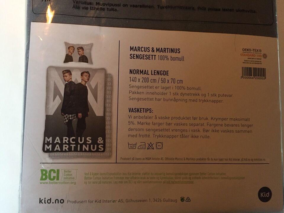 Sengetøj, Sengesæt , Marcus & Martinus