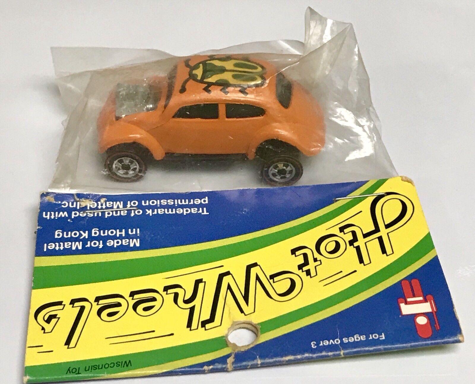 Wisconsin Toy VW Orange Bug Hot Wheels rotline HK Promo Sealed In Taschegie
