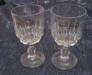 2x-lovely-wine-glasses-in-a-pretty-design-039-Best-wishes-039-by-Luminarc-France-5ins