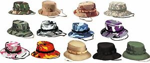 Image is loading Jungle-Hats-Military-Camouflage-Jungle-Hat-All-Sizes- e0fd27f7d71