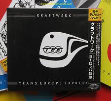 Kraftwerk ,  Trans Europe Express  ( CD_Japan )