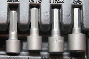 NUT-SPINNER-SOCKETS-1-4-034-HEX-SHAFT-STANLEY-TOOLS-8MM-9MM-10MM-11MM