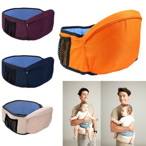 Baby Toddler Hip Seat Support Belt Waist Stool Walker Carrier Baby Hip Seat NB85