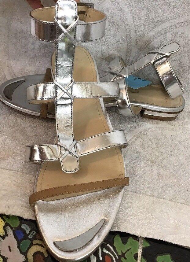Maiyet Zapato Plata Sandle Talla 40 Usado algunos algunos algunos cb9fc8