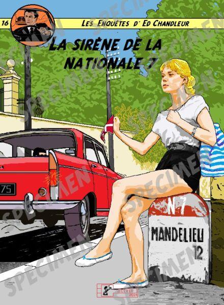 """""""la Sirène De La Nationale 7"""" Dessin (6 Ex Disponibles) Peugeot 404 Par Jiceher GuéRir La Toux Et Faciliter L'Expectoration Et Soulager L'Enrouement"""