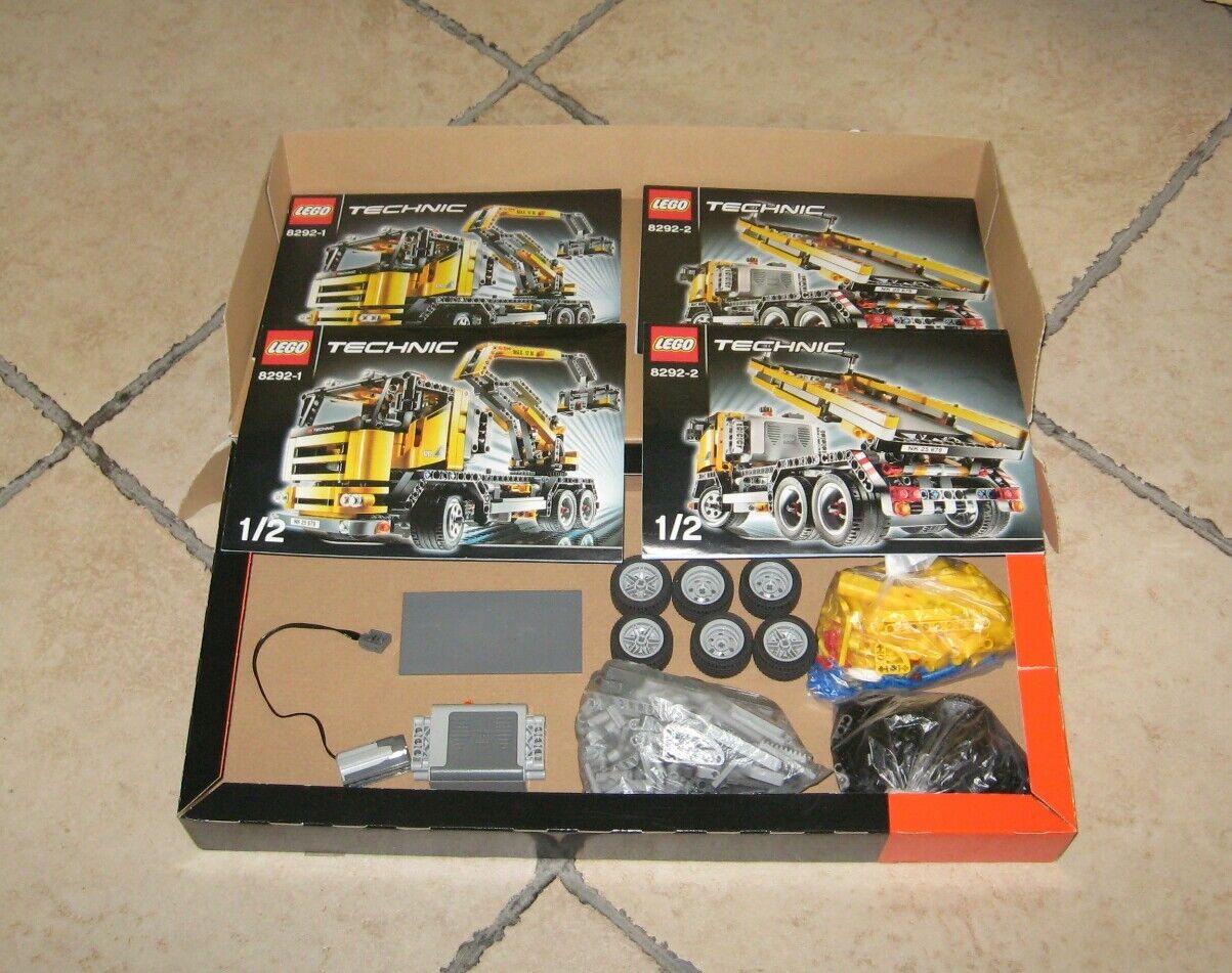 LEGO TECHNIC 8292 2 versioni in 1,  completo 100%