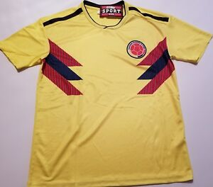 9adbea226 Men  039 s Colombia National soccer team Home jersey world cup 2018