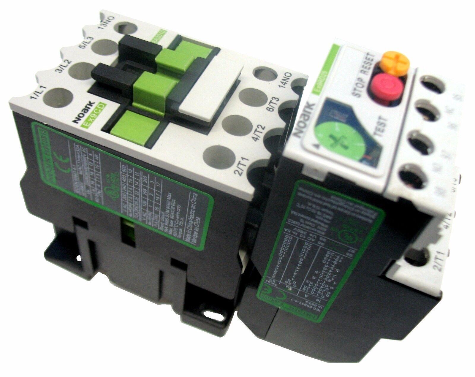 Motor Starter 1 HP @ 230V 4-6 Amp Overload 120 Volt Coil 1 HP Brand New