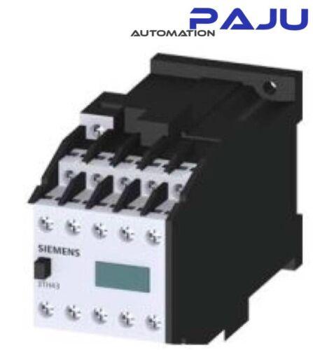 Siemens hilfschütz 3th43 91-0bb4 24v dc nuevo//en el embalaje original contactor Relay