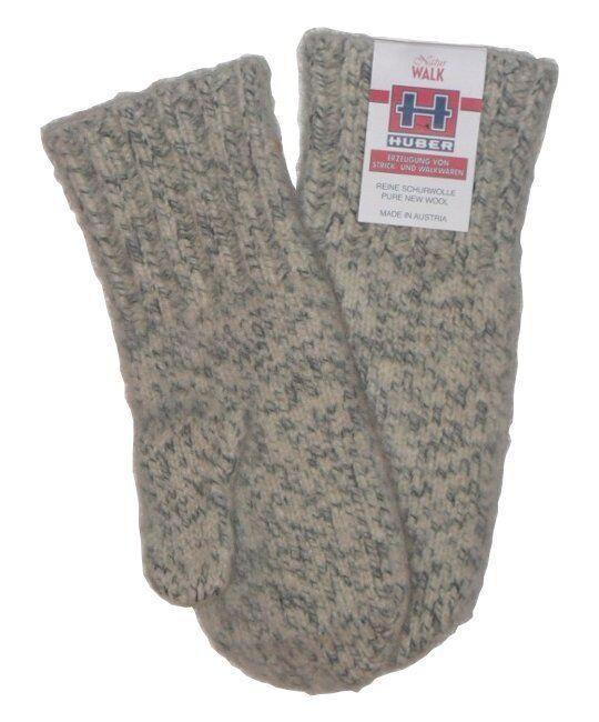 Huber Dachstein Xtreme Woollen Mittens - 100% Pure  New Wool - Premium Quality -  healthy