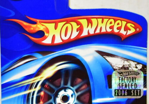 HOT WHEELS 2006 PIKES PEAK CELICA #132 BLACK FACTORY SEALED