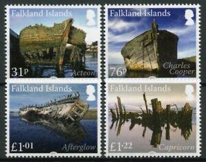 Falkland Islands Ships Stamps 2017 MNH Wrecks Pt I Acteon Shipwrecks 4v Set