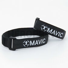 DJI MAVIC PRO - 2x Hook-and-Loop with LOGO (Mavic & Controller) US
