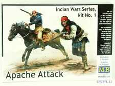 Master Box 1:35 MB35188 Apache Attack Indian Wars series, kit #1 - NEU!