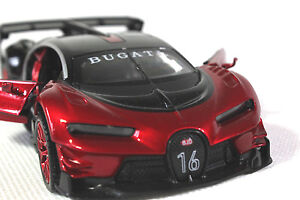 Bugatti-Vision-Concept-1-32-Diecast-Toy-Gran-Turismo-Model-Car-Sound-amp-Light-Alloy
