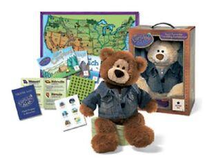 NWT Gund Everywhere Plush Boy Teddy Bear W/Box