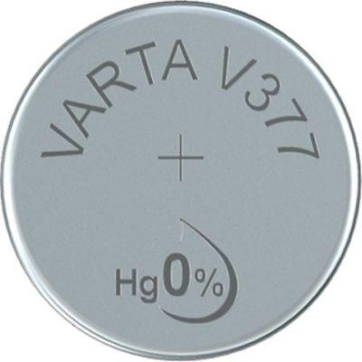 20x Varta 377 V377 Uhren-Batterie Knopfzelle SR66 SR626 AG4 VARTA Silberoxid