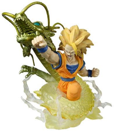 Dragonball Dragon ball Z Imagination Figure Figurine 9 Gashapon SS3 Goku Gokou