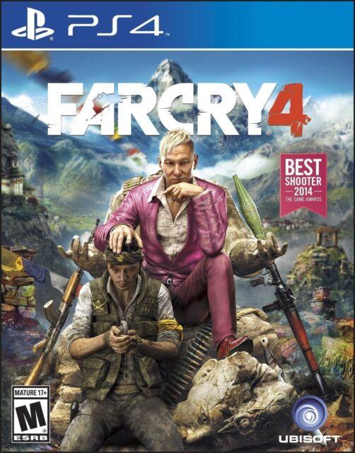 Far Cry 4 -- Limited Edition Sony PlayStation 4, 2014  - $1.00