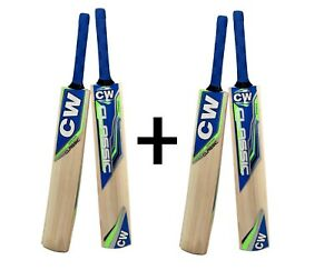 2x-CLASSIC-TENNIS-CRICKET-BAT-LIGHT-WEIGHT-TAPE-SHORT-HANDLE-IN-KASHMIR-WILLOW