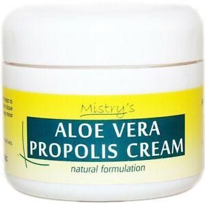 Details about Mistry's Natural Aloe Vera Propolis Cream 50g - Eczema Relief  & Antiviral