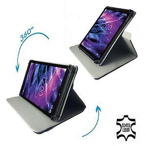 Kindle-Fire-HDX-7-Tablet-PC-Schutzhuelle-Tasche-Echtleder-Schwarz-7-Zoll-360