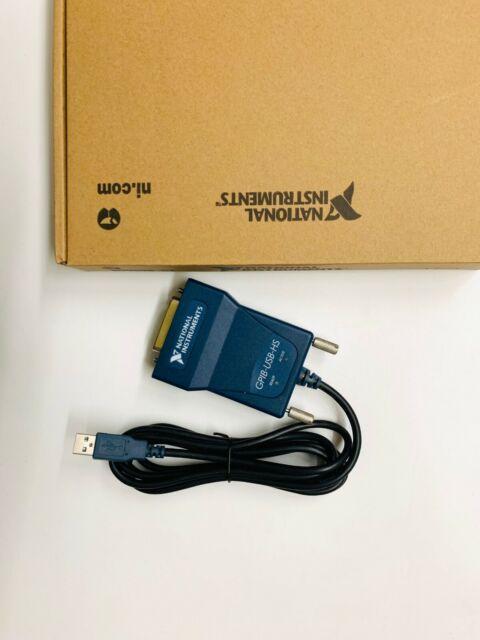 National Instrumens NI GPIB-USB-HS GPIB Data Acquisition Card os12