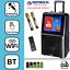 "thumbnail 1 - SONKEN MAX PORTABLE KARAOKE SYSTEM + 2 WIRELESS MICS - 50 WATTS & 15"" LCD SCREEN"