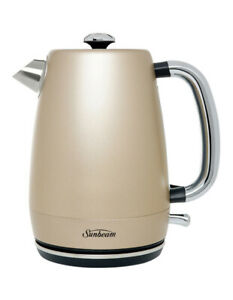 NEW-Sunbeam-London-Collection-Conventional-Kettle-KE2210CP-champagne