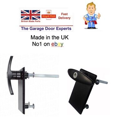 NEW GARADOR 75mm shaft EXTERNAL Garage Door lock Outside HANDLE spare parts