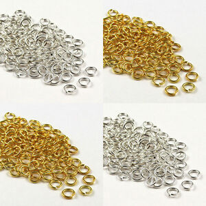 4-5-6-7-8-9-10mm-Open-Jump-Rings-Connector-Beads-Jewelry-Findings-Making-Crafts