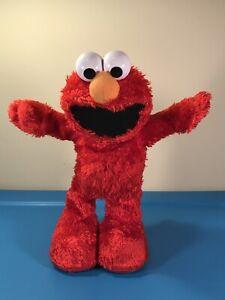 "Fisher Price Hokey Pokey Elmo 14"" Sings Dances Spins 2010 Sesame - SEE VIDEO!"