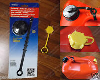 Scepter Gas Can Storage & Transport Closed Cap W Gasket Tether + Rear Vent Js510