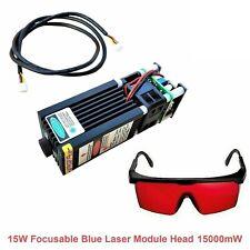 15000mw Blue Laser Head Module For Engraving Cutter Cnc 3018 Pro Lazer Machine