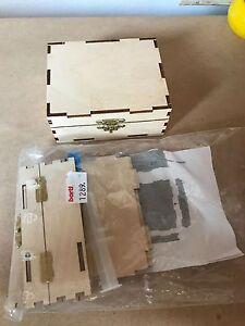 Holzkiste Selberbauen Natur Aufbewahrung Box Holz Ebay