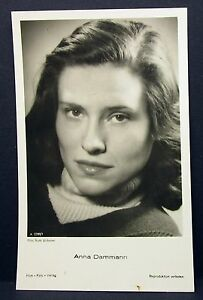 Anna-Dammann-Actor-Movie-Photo-Film-Autogramm-Karte-AK-Lot-G-6508
