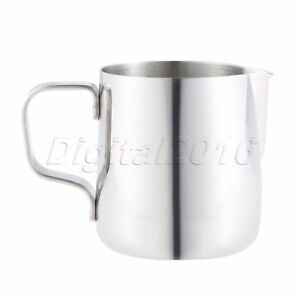 Coffee Milk Latte Jug Stainless Steel Silver 150ml Kitchen Tools Accessories