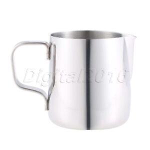 Coffee Milk Latte Jug Stainless Steel Silver 150ml Kitchen Tools Accessories