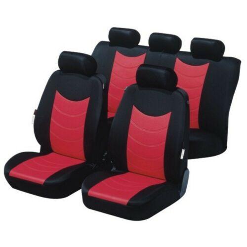 Universal Schonbezug Schonbezüge Sitzbezug Sitzbezüge Detroit rot FORD